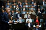 Erdoğan'ın bugünkü konuşmasından kareler