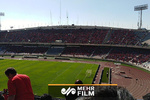 ورزشگاه آزادی ساعاتی قبل از بازی پرسپولیس و السد