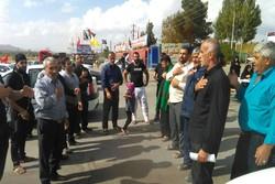 عزاداری زوار اربعین در موکب فاطمهالزهرا(س) استان همدان