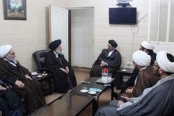 دیدار مسئول ارتباطات بینالملل حوزه با امام جمعه اهواز