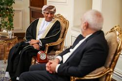 معاون وزیر امور خارجه عمان با ظریف دیدار و گفتگو کرد