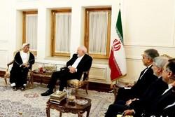 Zarif, Ummanlı yetkiliyle Tahran'da görüştü