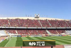 وضعیت استادیوم آزادی کمتر از ۵ ساعت به بازی پرسپولیس و السد