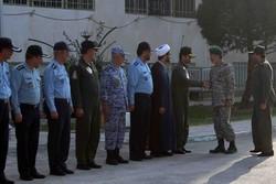 دریادار سیاری از پایگاه هوایی شهید بابایی اصفهان بازدید کرد