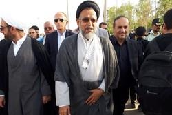بازدید وزیر اطلاعات از مرز مهران