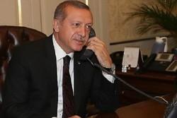 الرئيس روحاني يتلقى اتصالا من نظيره التركي رجب طيب اردوغان