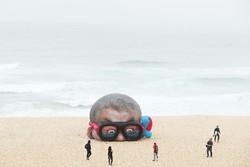 معرض الاعمال الفنية على الشواطئ / صور