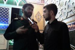 خدمت رسانی ۲ هزار بسیجی و پاسدار به راهپیمایی جاماندگان حسینی