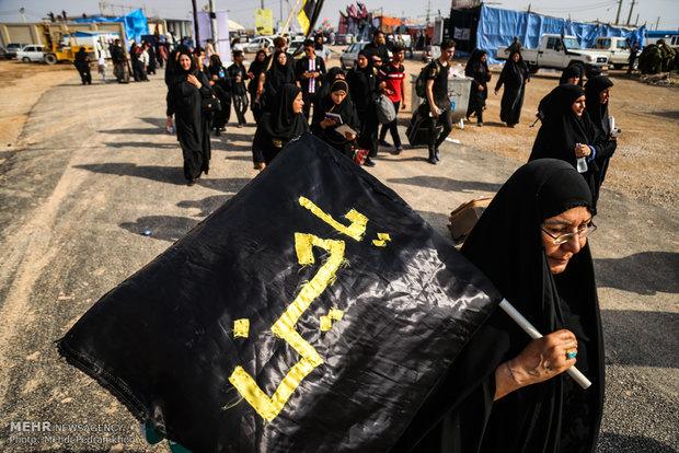 قائد عسكري: ايران والعراق یتعاونان لحماية زوار الاربعين