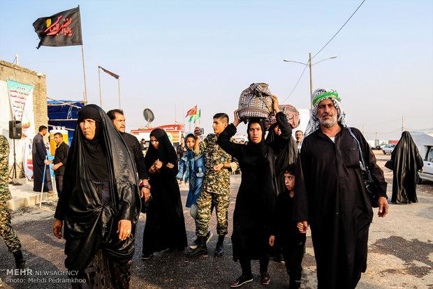 خروج زائران حسینی از چذابه به بیش از ۱۰۰ هزار نفر رسید