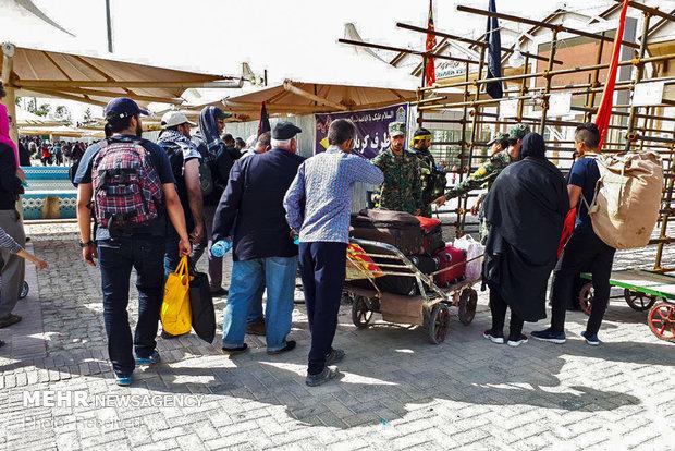آغاز بازگشت زائران و عزاداران تاسوعا و عاشورای حسینی به کشور