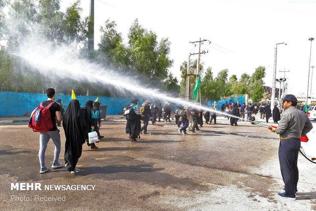 زیرساختهای ناقص مرز مهران برای استقبال از زوار اربعین!