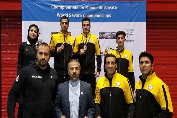 مربی تیم ملی ساواته ایران: تیم ملی ساواته ایران در بازیهای جهانی بلغارستان 4 مدال کسب کرد