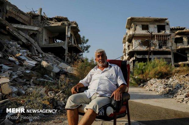 بازگشت آرامش به دمشق