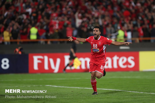 Perspolis-Al Sadd return match in Tehran