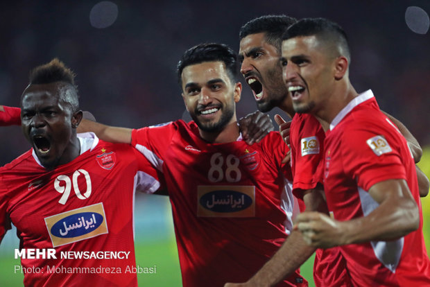 Perspolis-Al Sadd return match in Tehran