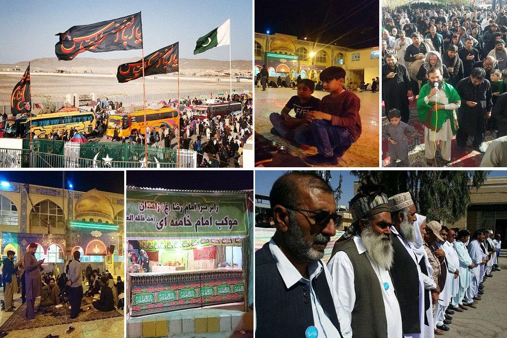 تحقق عملی شعار «حب الحسین یجمعنا» در پایتخت وحدت ایران اسلامی