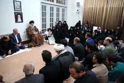 İslam Devrimi Lideri'nin son görüşmesinden kareler