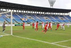پیروزی پرگل تیم ملی فوتبال بانوان مقابل تاجیکستان