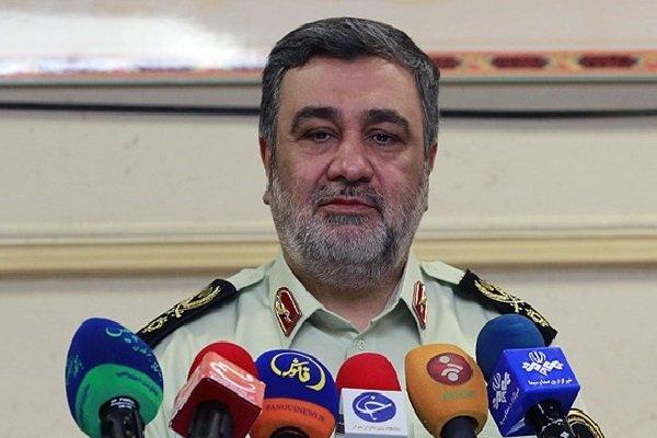 30k police forces deployed at Iran-Iraq border: Ashtari