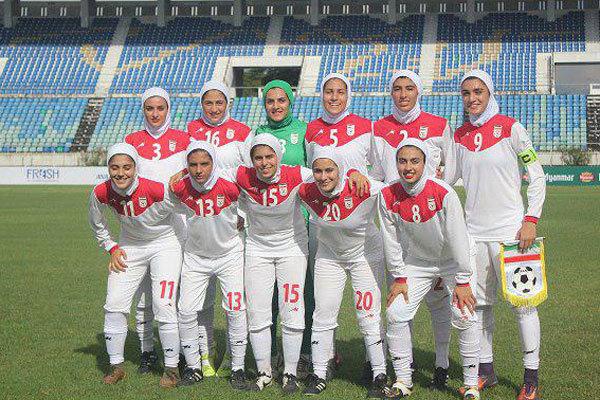 شکست تیم ملی فوتبال بانوان مقابل ازبکستان