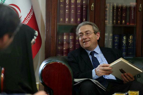 سفیر قبرس در ایران از کتابخانه ملی بازدید کرد