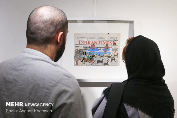 The Tehran Times cartoons