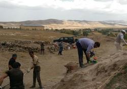 فصل دوم کاوش باستانشناسی قلعه شهر تاریخی اوجان آغاز شد