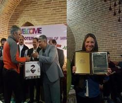 اعطای شهروند افتخاری به «پرنده بیستون»/ تقدیر از صخرهنورد معلول