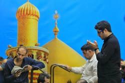 حرم حضرت علی (ع) میں زائرین اربعین کا حضور