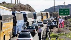 استقرار ۱۱۰ گشت پلیسراه در مسیر زوار اربعین / محدودیتهای ترافیکی بازگشت