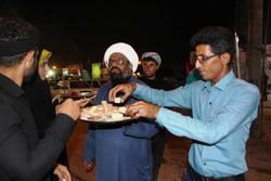 فلم/ نجف اشرف میں بروجردیوں کی طرف سے زائرین اربعین کی خدمت رسانی