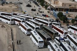وضعیت در پایانه های اتوبوس رانی مرزها عادی شد