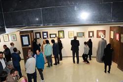 جلوه گری خط نگاره ها بر دیوار نگارخانه بانو در قزوین