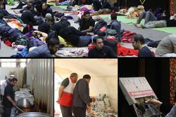 خدماتدهی موکبهای لرستان در عراق/ اسکان و پذیرایی ۲۴ ساعته زوار