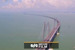 طولانی ترین پل آبی جهان در چین افتتاح شد
