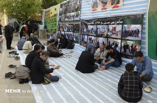 موکب مرکزی ستاد اربعین زنجان در نجف اشرف