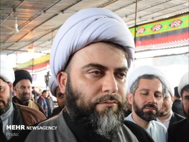 فلم/ سازمان تبلیغات اسلامی کے سربراہ کی اربعین کے پیدل مارچ میں شرکت