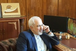 Iran FM holds phone talks with new Iraqi counterpart