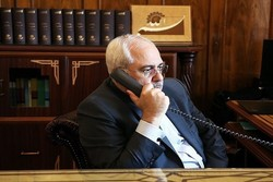 FM Zarif holds phone talks with senior foreign officials