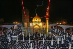 اقامه نماز عاشقی از نجف تا کربلا