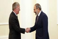 تلاش بولتون برای همسو کردن ارمنستان با تحریم های آمریکا علیه ایران