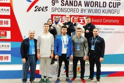 Iran clinches title at Sanda world cup for 1st time