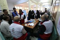 خدمات رسانی هلال احمر به ۵۰ هزار زائر اربعین