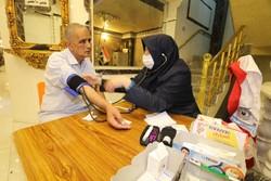 مراجعه ۸۹۰۰ زائر به درمانگاه بین راهی مرکز پزشکی هلال احمر