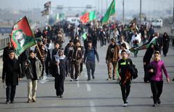 1.8 million Iranian pilgrims taking trek to Karbala