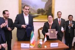Iran, Indonesia sign medical MoU