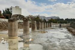۲ دستگاه پل روی رودخانه «خرم رود» تا پایان سال جاری افتتاح میشود