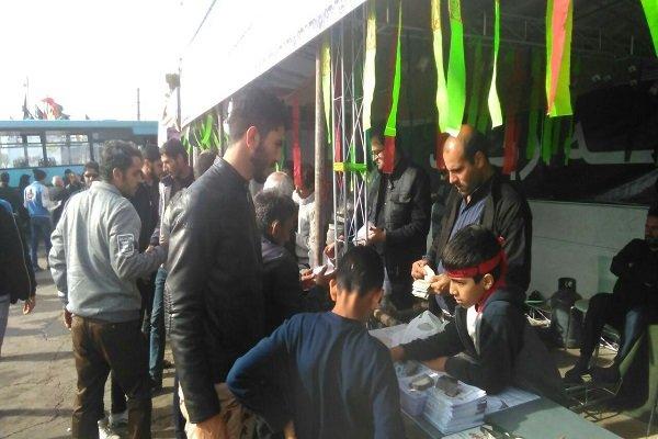 زائران کشورهای هند،پاکستان،افغانستان و آذربایجان پذیرایی  می شوند