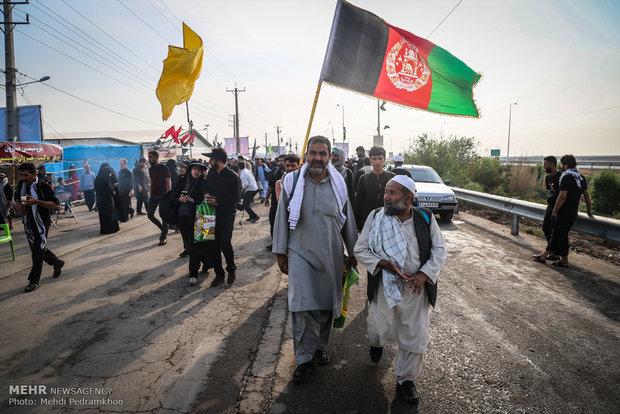 تردد از گذرگاه های مرزی خوزستان به بیش از۱٢٢ هزار نفر در روز رسید